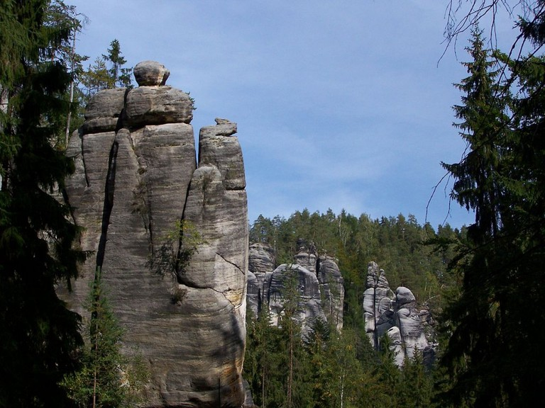 Sandstone rocks | ©Jan Mehlich / Wikimedia Commons