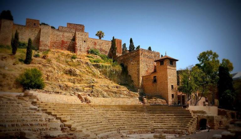 Malaga´s Alcazaba is ideal for a romantic stroll; Ronny Siegel, flickr