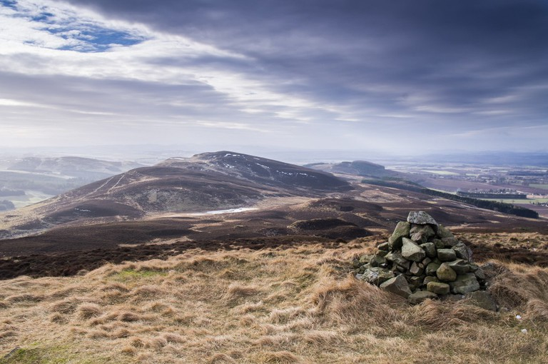 Dunsinane Hill From King's Seat | © Neil Williamson/Flickr