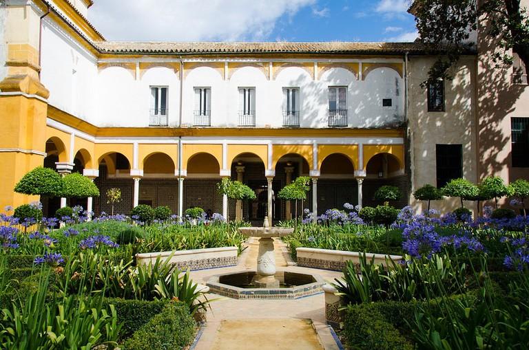 Beautiful gardens at the Casa de Pilatos; Sandra Vallaure, flickr