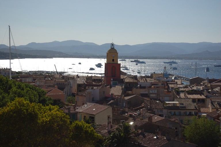 The view from the Citadelle in St Tropez is amazing | © Chever/flickr