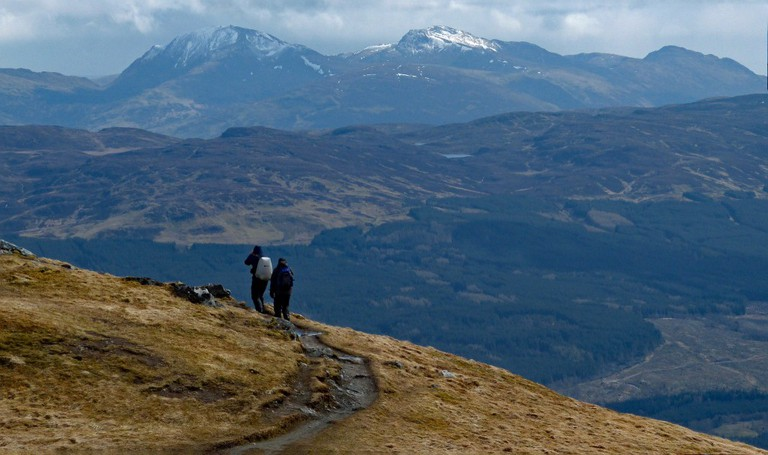 Munro Bagging In Scotland | © Andrew / Flickr