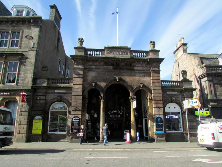 Victorian Market Entrance