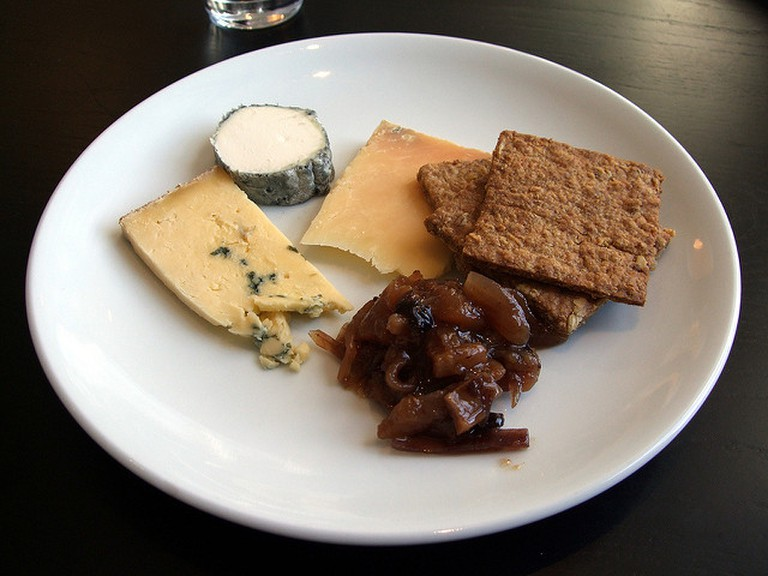 Cheese plate at Modern Pantry