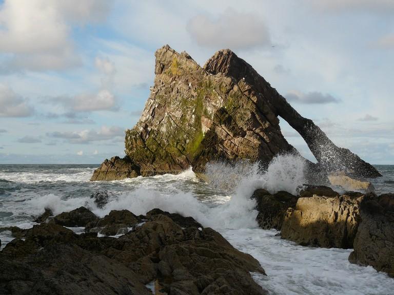 Bow Fiddle Rock, Moray Firth | © Deborah Main/Flickr