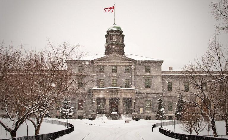 McGill University in Winter | © TMAB2003 / Flickr