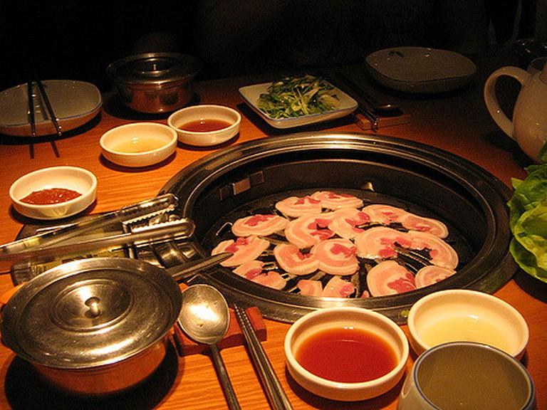 Dishes at Asadal