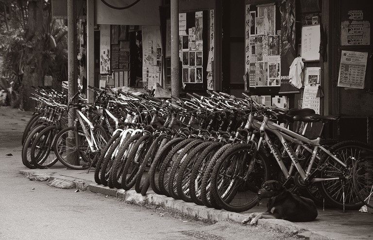 Bike Rental Shop on Pulau Ubin | © Schristia/Flickr