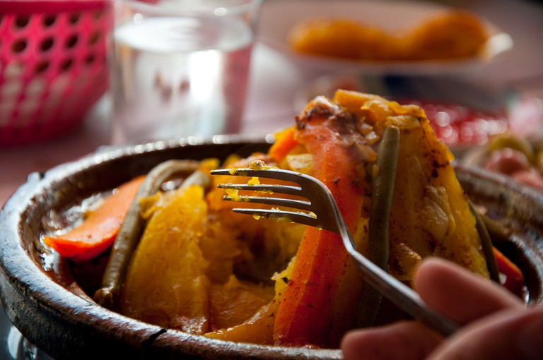 Try a traditional tagine