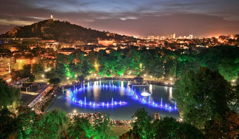 Singing Fountains in Plovdiv   © Jbiznesa/WikiCommons