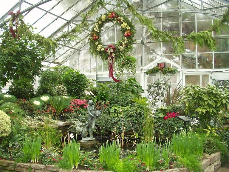 Allen Gardens at Christmas | © Torontofiredancer / WikiMedia Commons