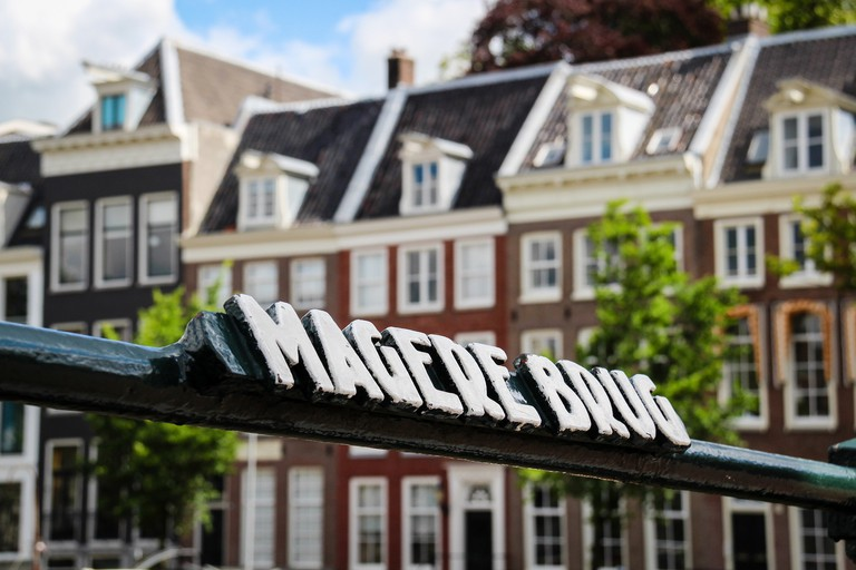 The deli is close to Magere Brug