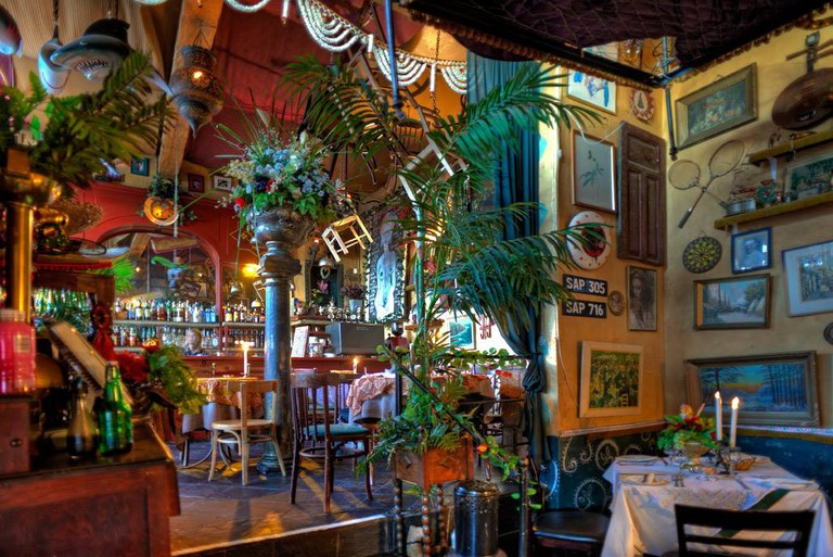 Interior of The Bombay Bicycle Club, Cape Town