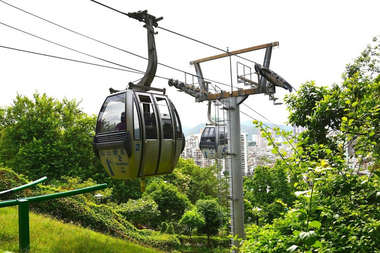 Cable car Macau | courtesy of Macau Government Tourist Office