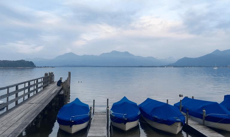 Chiemsee Lake © Roanna Mottershead