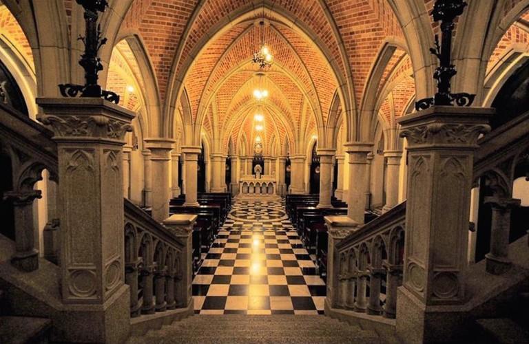 Crypt a the São Paulo Metropolitan Cathedral © Tatiana Sapateiro/Wikimedia CC