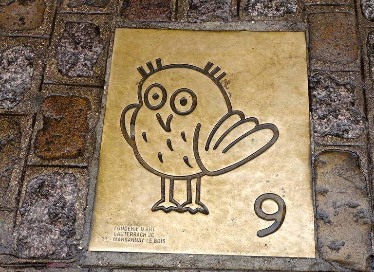 When in Dijon, follow the owl ©Sylvia Edwards Davis