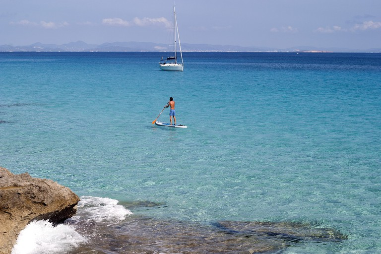 The clear waters of Formentera CC0 Pixabay
