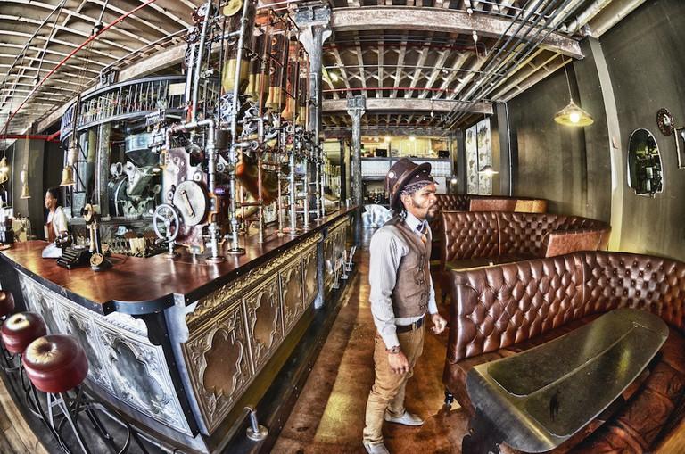 Truth Coffee Roasting interior