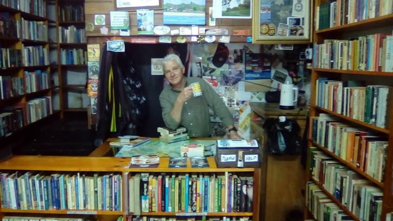 Mark Andrew Halton at the English Bookshop