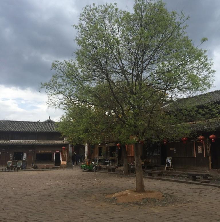 Shaxi Market Square | ©Jessica Larson