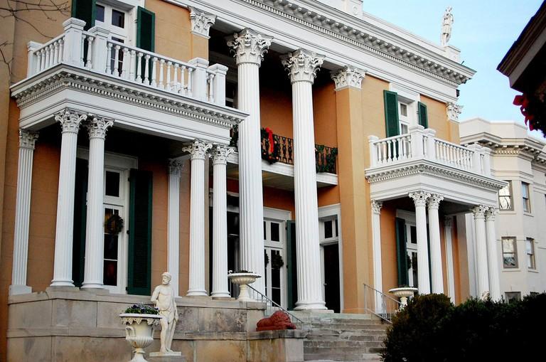Belmont Mansion / (c) Jamie / Flickr