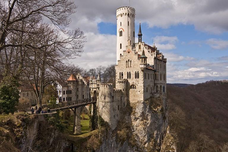 Lichtenstein Castle in Württemberg | © -donald- / Wikicommons