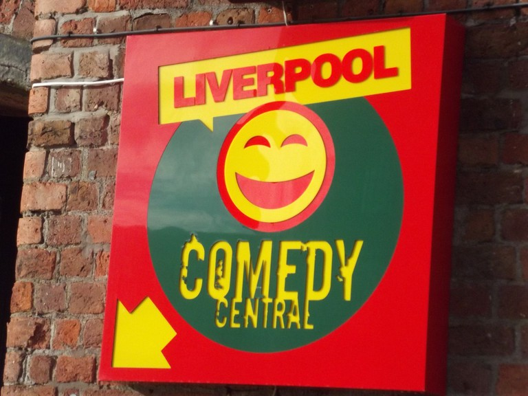 Liverpool Comedy Central club on Albert Dock