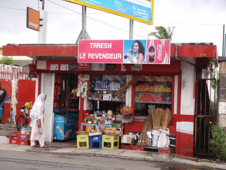 Shop Front in Mahebourg|© Wikimedia Commons