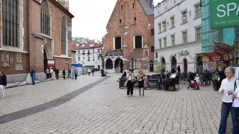 Looking towards Maly Rynek