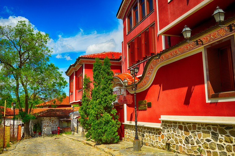 Plovdiv's Old Town | © Pixabay