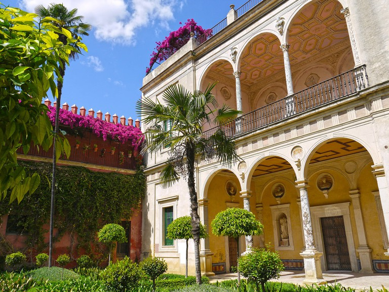 Casa de Pilatos, Seville; kkmarais, flickr