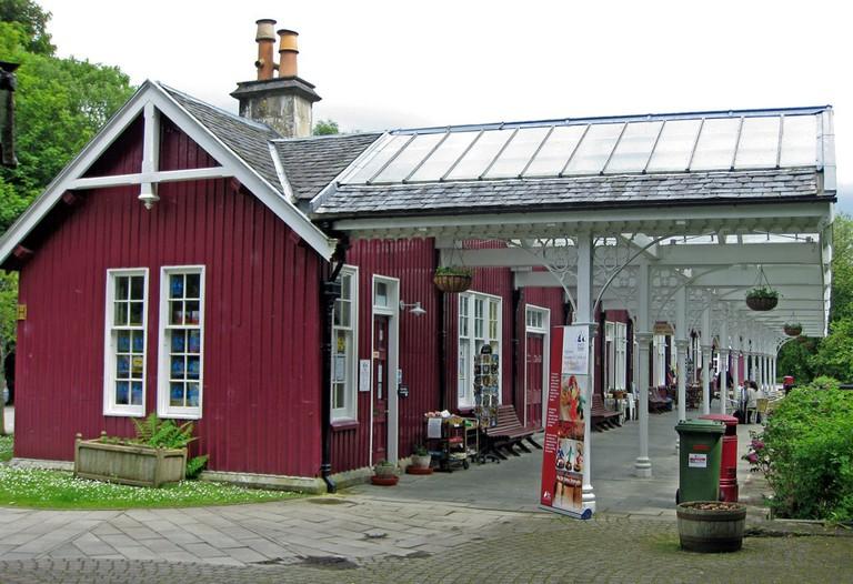 Victorian Railway Station, Strathpeffer | © RuthAS/Wikimedia