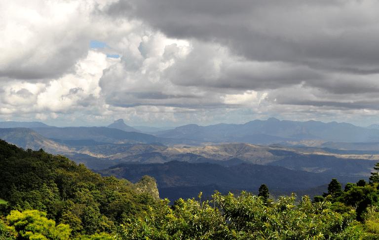 Lamington National Park Lookout