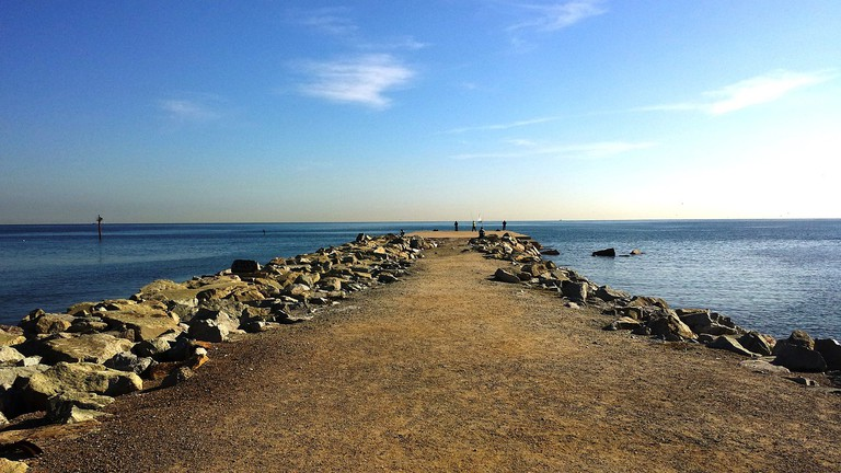 By Barcelona beach CC0 Pixabay
