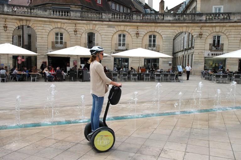 Segway tour in Dijon | © Fanny Bonnard / OT Dijon
