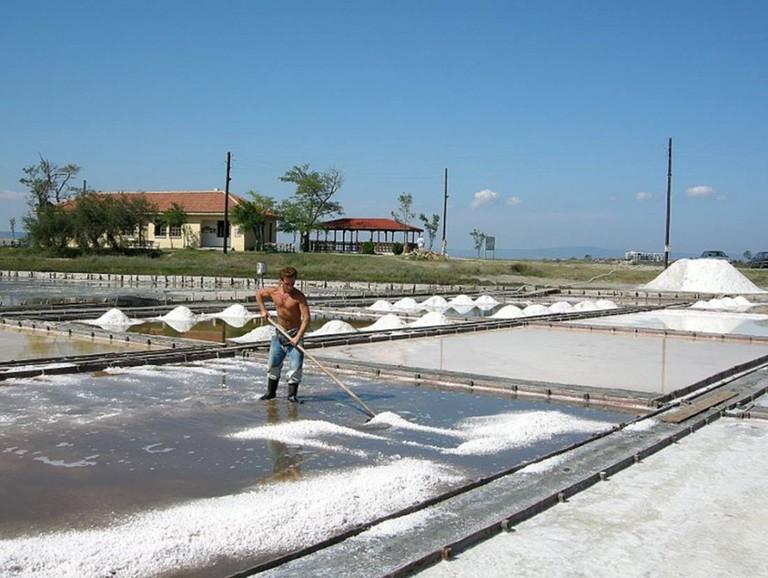 Salt Pans in Pomorie | © Pz.IStP/WikiCommons