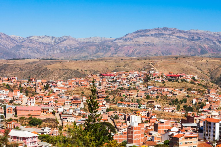 Sucre aerial view from La Recoleta Monastery viewpoint | © saiko3p/Shutterstock