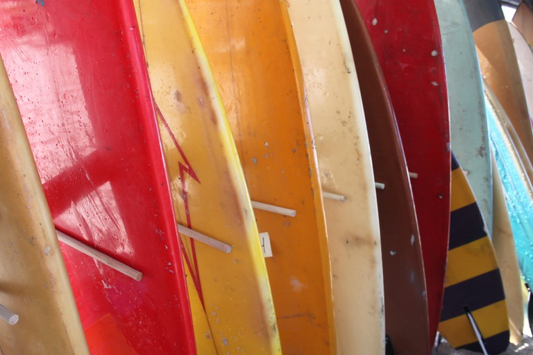 Surfboards | © Clematis Wilt/ Flickr