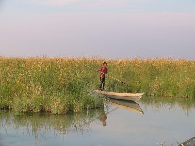 The peaceful Shadegan Lagoon   © internet alghadir shadegan / Wikimedia Commons