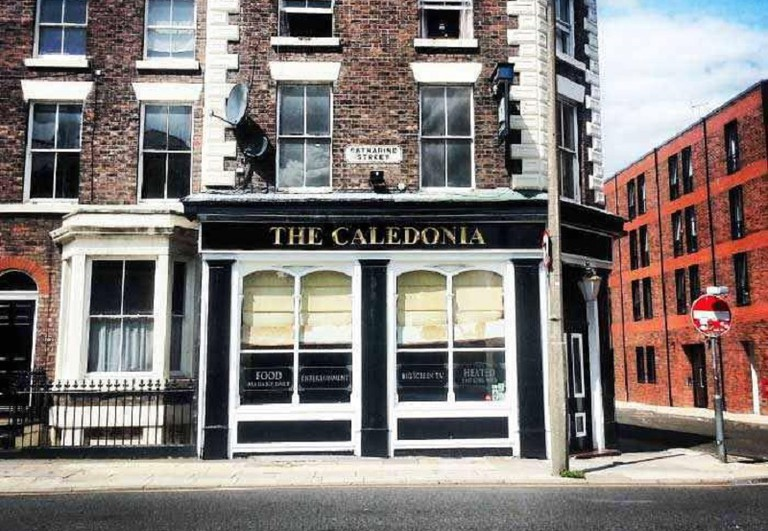 The Caledonia pub