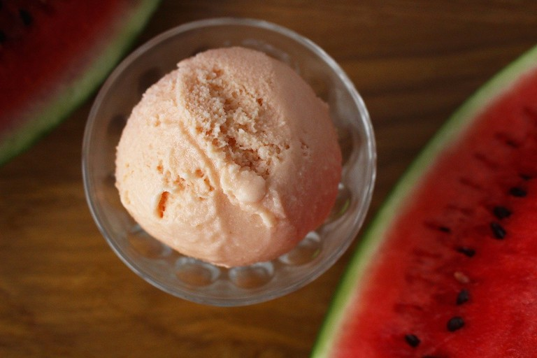 Watermelon ice-cream from The Creamery © Courtesy of The Creamery