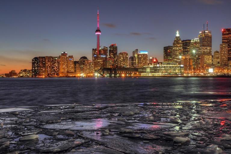 Toronto's skyline from Polson Pier | © Allen MacGregor/ Flickr