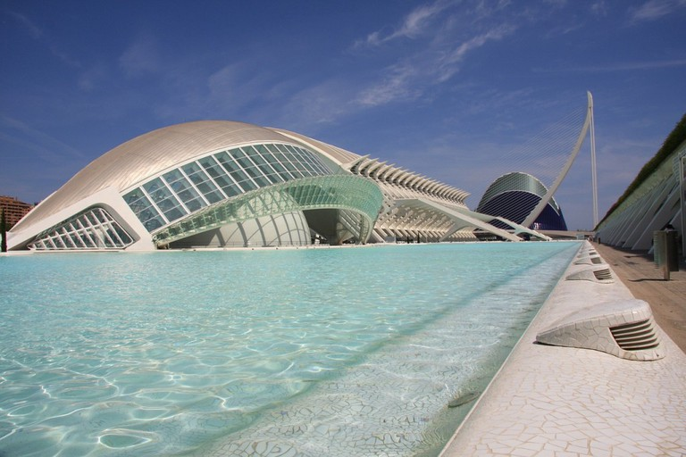 The City of Arts and Sciences in Valencia CC0 Pixabay