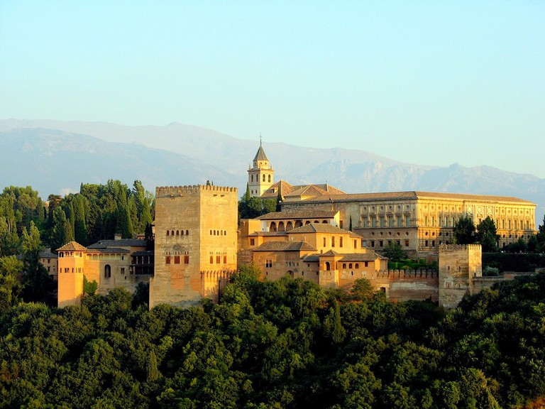 The Alhambra in Granada, Spain | © bernjan/Wikipedia