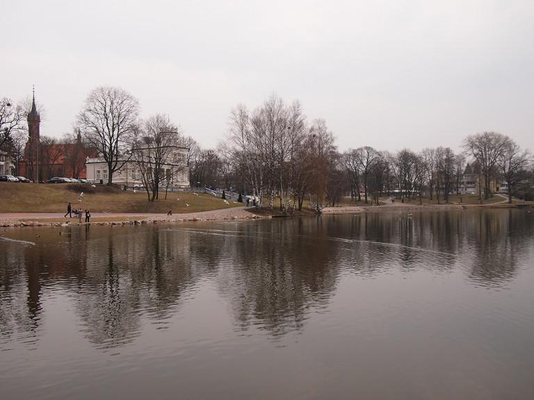 Park in Druskininkai | ©Elizabeth Georgian