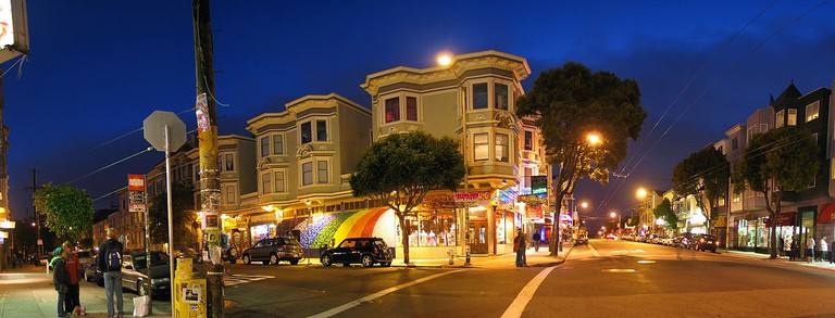 Haight-Ashbury was the birthplace of San Francisco's hippie movement
