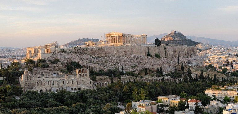 The Acropolis as viewed from the Hill of the Muses | © Christophe Meneboeuf/WikiCommons