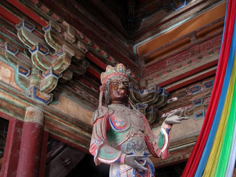 Goddess of Dule Temple © Matthew Stinson/Flickr