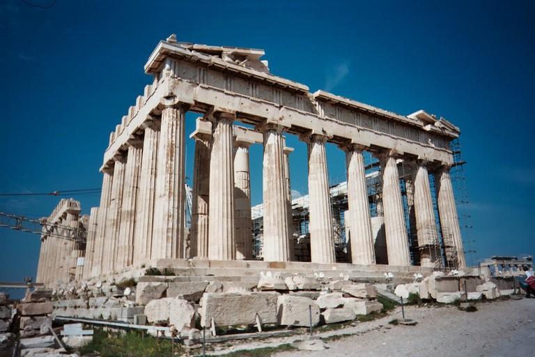 The Parthenon Temple | © Michel Curi/Flickr